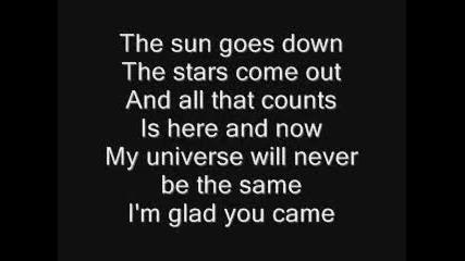 Timeflies - Glad You Came Lyrics