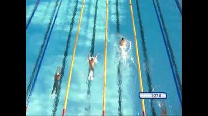 29.07 Майкъл Фелпс със злато и световен рекорд на 200 м butterfly - Световно по плуване в Рим