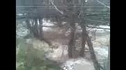 Кустендил - с. Гърляно реката отнесе моста