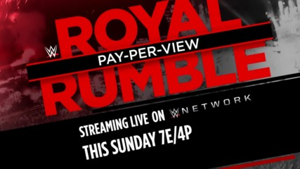 R-Truth & Carmella are ready for Royal Rumble - Streaming live this Sunday on WWE Network