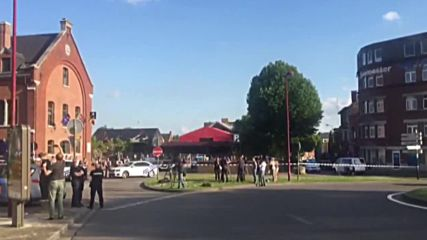 Belgium: Sirens ring out in Charleroi after machete attack on police