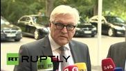 Germany: Hopeful sounding news coming from Ukraine - FM Steinmeier