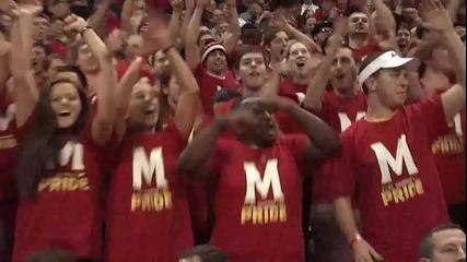 Луда Атмосфера на Колежански Баскетболен Мач - Harlem Shake