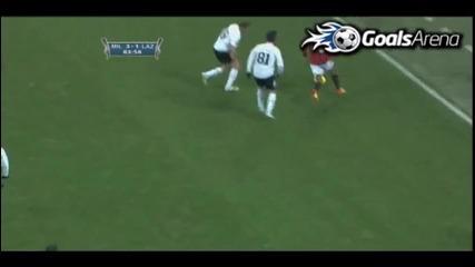 Милан обърна Лацио на Меаца Ибра с гол от пейката