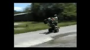 Juvenile Tendencies Atv Stunt Riders
