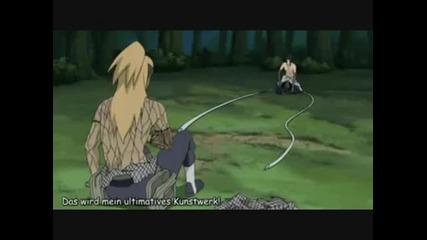 Naruto Sasuke vs Deidara