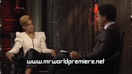 Rihanna - On The Record with Fuse Pt1