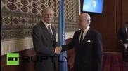 USA: UN Syria envoy meets for crisis talks in Geneva