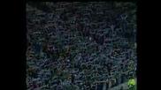 Celtic fans Youll never walk alone vs Barca