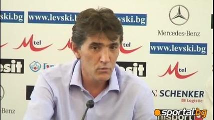 23.07 Радко Достанич е старши треньор на Левски