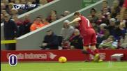 Кристиан Бентеке от Ливърпул за 1:0 срещу Саутхемптън