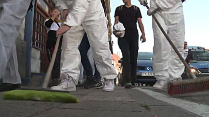 Poland: Protesters 'clean streets' after first LGBT+ pride parade in Kalisz