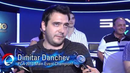 Димитър Данчев спечели Pokerstars Caribbean Adventure - Pca 10 и почти 2 000 000$