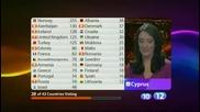 Гласуване - Част 3 от 5 - Евровизия 2009 - Финал