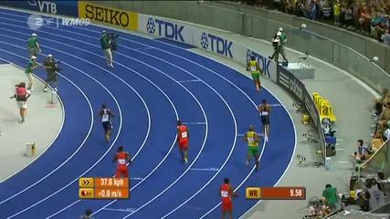 Usain Bolt Най-бързият човек на света!!!