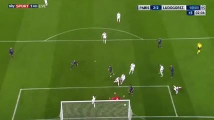 Пари Сен Жермен 2 - 2 Лудогорец ( шампионска лига ) ( 06/12/2016 )
