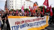 Germany: 30,000 take to Hamburg streets to protest TTIP and CETA