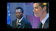 Церемония по награждаването на  Кристияно Роналдо за Футболист Номер 1 на Фифа
