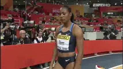 Ваня Стамболова с бронзов медал от световното по лека атлетика в Доха