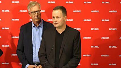 Germany: Election 'debacle' a 'harsh blow' for Die Linke says Wissler