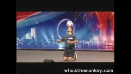Британски Таланти Freestyle Футбол