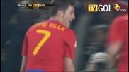 World Cup Испания - Хондурас 2:0 - David Villa