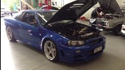 Nissan Skyline Gtr R34 Turbo Sound