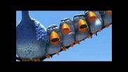 Птици на Жици - Смешна Анимация!