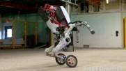 Роботът Хендъл- прилича на кон и скача като човек