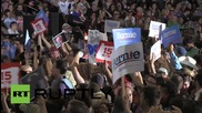 USA: Bernie Sanders vows to combat institutional racism, childhood poverty