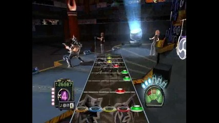Guitar hero 3 - Dragonforce - Through the fire and flames