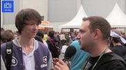 Интервю с Diamond от отбора на Gambit - Afk Tv на Gamescom 2013