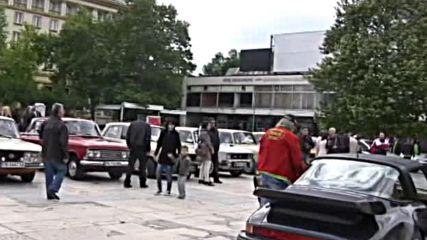 Луксозни ретро коли - на рали в Пловдив