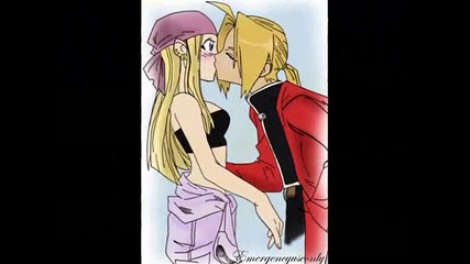 Edward x Winry-one more naght