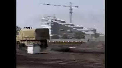 Най - злобната руска машина Камаз в действие на тестов полигон