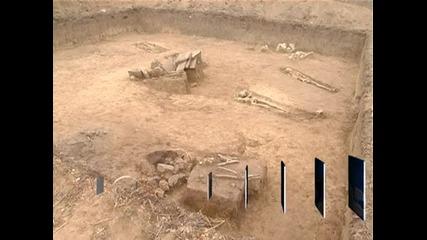 При разкопки край Русе бе открит некропол от времето на траките