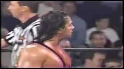 Завръщането на Nwo - Брет Харт срещу Голдбърг Wcw Nitro