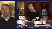 Daniel discusses a hand he played against Tom Dwan.