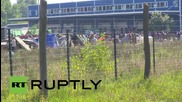 Hungary: Hundreds of refugees sent to overcrowded detention centre in Roszke