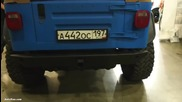 Jeep Wrangler Offroad Tuning 35x12.5 R15 - Moscow Offroad Sh