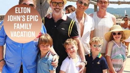Елтън Джон и Нийл Патрик Харис отидоха на семейна почивка