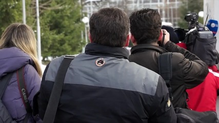Репортери спряха клубния автобус на ЦСКА