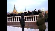 Русский бунт Манежная площадь.