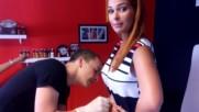 Deea Maxer -body piercing la Candy Tattoo Constanta