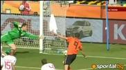 група E - Холандия 2 - 0 Дания + Автогола на Дания (световно - 14.06.2010)