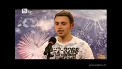 Йордан от Пловдив Вдигна Публиката На Крака - Бг Търси Талант
