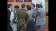 Бой в Руската Дума (руския Парламент)