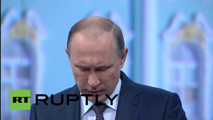 Russia: We'll respond to sanctions with greater openness - Putin