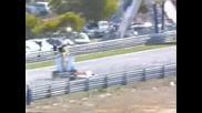 Formula 1 - Patrese Crashes Into Berger