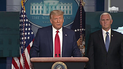 USA: Trump touts stock market milestone and avoids transition questions in short appearance